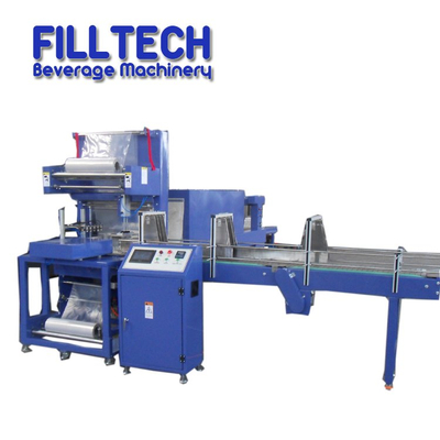 Automatic Thermal Shrinkage Film Wrapping Package Machine For PET bottle