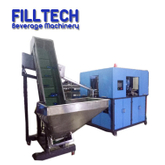 Full automatic 5 liter pet bottle blow molding machine