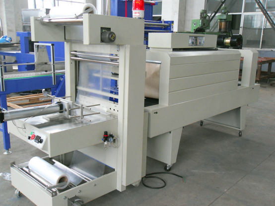 Semi-automatic shrink wrapping machine.png